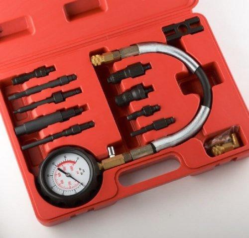 Diesel Engine Cylinder Compression Tester Professional Kit Direct Indirect Truck