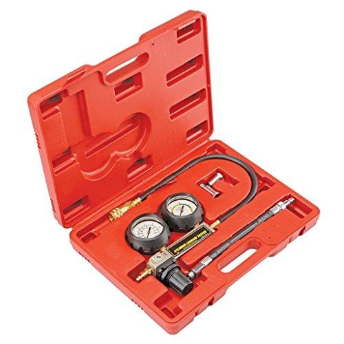 SUPERTOOLS TU-21 Petrol Engine Cylinder Compression Leak Detector Tester Gauge Tool Kit TP1199