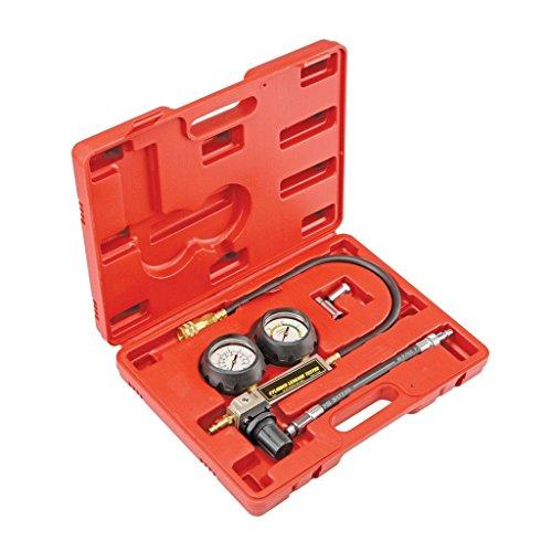 Supercrazy TU-21 Petrol Engine Cylinder Compression Leak Detector Tester Gauge Tool Kit SF0199
