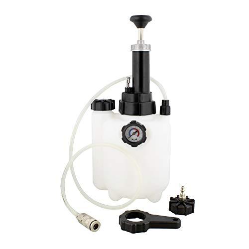 ABN  Manual European Brake Bleeder Brake Bleed Pressure Brake Bleeder Kit One Man Brake System Bleeder 3 Liter