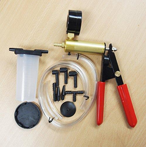 Brake Bleeder Vacuum Pump Kits Tester 2 in 1 Auto Hand-Held