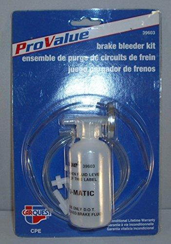 Pro Value  Carquest Brake Bleeder Kit 39603