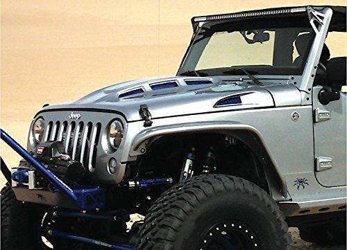 Promaxx 07-15 Jeep Wrangler Jk CowlHeat Reduction Fiberglass Hood - JEEP07HOOD