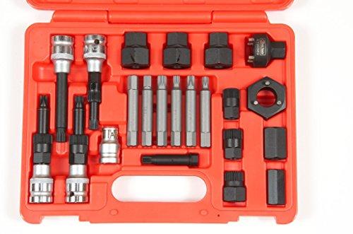 Koch Tools KT20369 Master Alternator Pulley Repair Tool Kit 23 pc kit