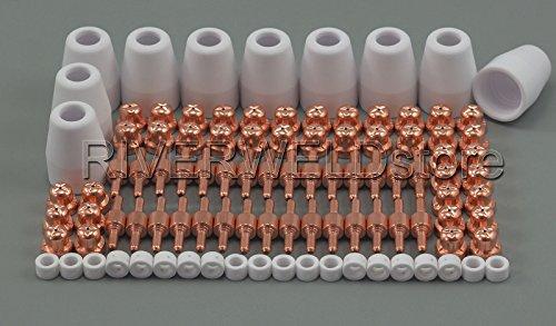 PT-31 LG-40 Plasma Electrode Tip Nozzle Cutting Consumables Accessory Fit CUT-50D CUT-50 CT-312 100pcs