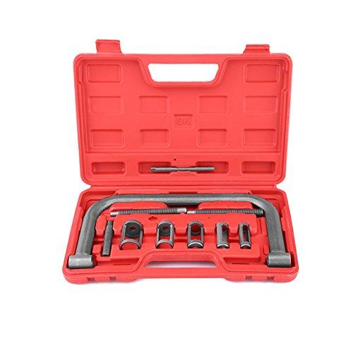 Spring Compressor Kit 10 pcs Auto ATV Engine Removal Installer Valve Tool Car Truck Clamp Service Engines Repaire Machine
