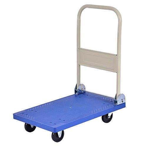 220 lbs Platform Cart Folding Dolly Hand Truck