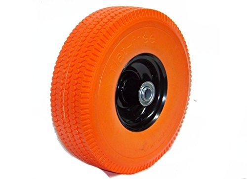 4 New 105 Flat-free Tire Hand Truck Dolly Wagon Flat Free Foamed Polyurethane
