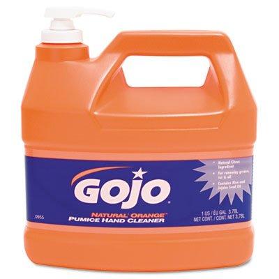 Natural Orange Pumice Hand Cleaner Orange Citrus 1gal Pump 4Carton Sold as 1 Carton