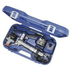 18 Volt Cordless Grease Gun with 2 Batteries Tools Equipment Hand Tools