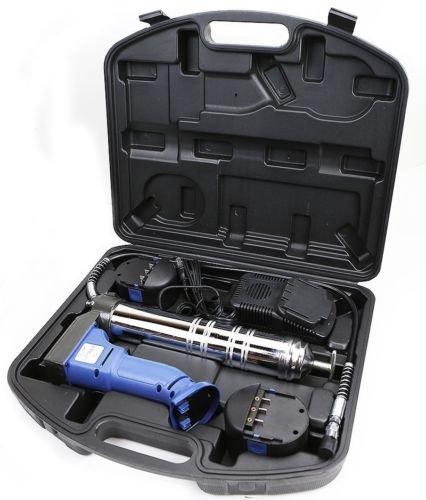 GHP 7500PSI 14-Oz Capacity Cordless Grease Gun Kit with Thermal Warmer 30 Hose