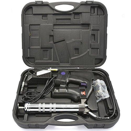 Te echo de menos Cordless Grease Gun 18V 10000PSI Rechargeable Lithium-Ion Battery Kit w Case