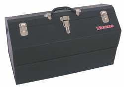 Westward 10J160 Portable Tool Box 22 Wx10 Dx12-58 H Blk