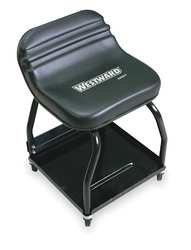 Westward 1MZH7 Creeper Seat 24 34 x17x16 12 In