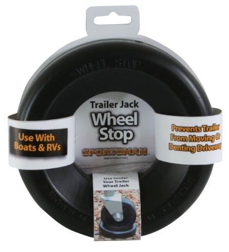 Sportsman TJSTOP Black Trailer Jack Wheel Stop
