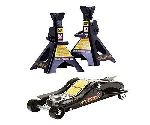 AT Products Corp Torin Jacks 25-Ton Low Pro Jack Bundle with Torin Jacks 3-Ton Jack Stand Pair