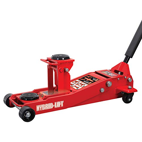 Torin Big Red Hybrid Lift Floor Jack 2 Ton35 Ton 4000 lb7000 lb Capacity
