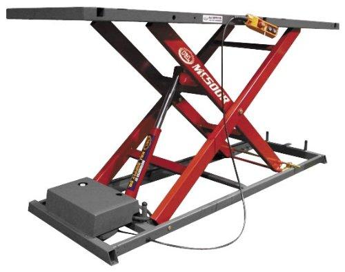K&L Supply MC500R 1100lb Hydraulic Lift - Red 35-4502