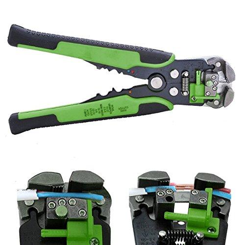 Wire Stripper Multi Tool Alicate Tools Cable Pliers Crimping Pliers Ferramentas Hand Tools alicate descascador deing Green
