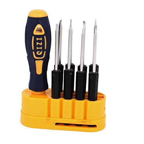 DealMux plástico aperto antiderrapante fenda Phillips chave de fenda Torx Set Kits 9 em 1