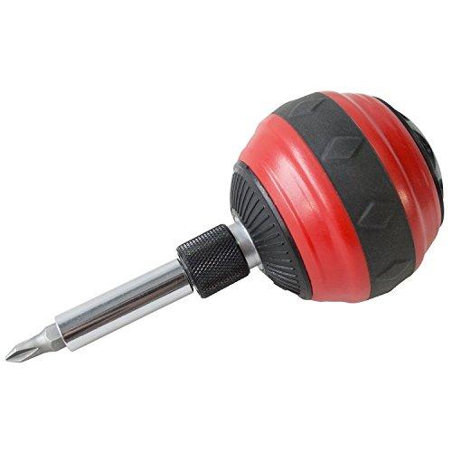 Ball Grip Ratchet Screwdriver