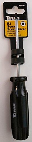 Titan 60891 R1 Square Screwdriver