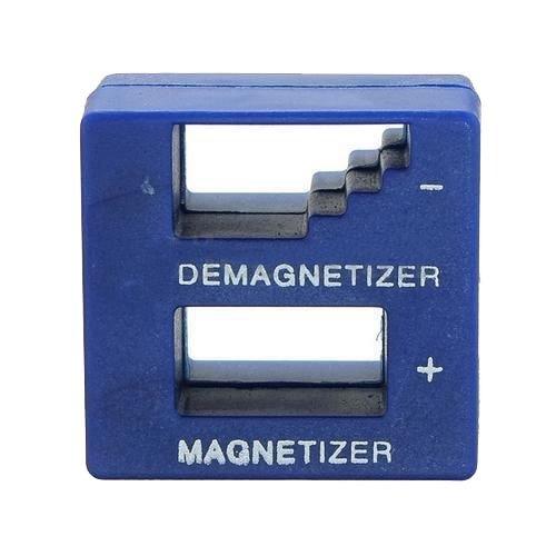 TOOGOOR New Magnetizer Demagnetizer For Screwdriver Tips Screw Bits Magnetic Tool