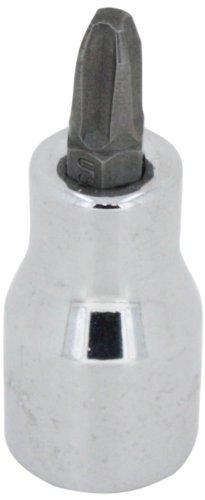 SK Hand Tool 44482 Number-2 Phillips Bit Drive Socket Screwdriver 14-Inch Chrome