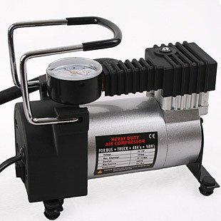RUIRUI Portable Super Flow 12V Car Pump Air Compressor  Auto Electric Tire Inflator