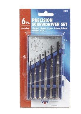 Bwt Inc 60120 6 Piece  Precision Screwdriver Set