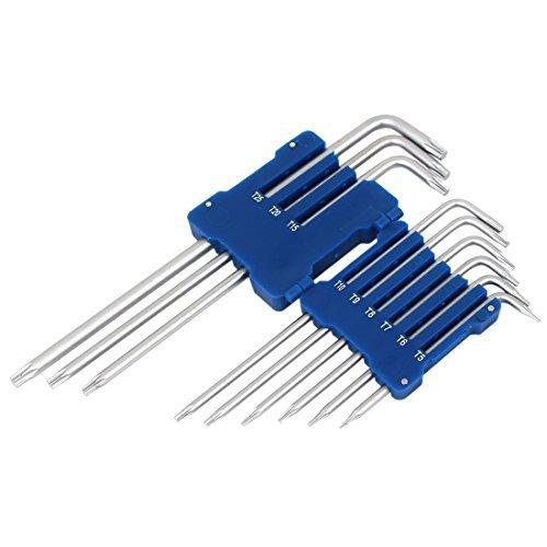 DealMux Star Torx Key Wrench Spanner Screwdriver Set Repairing Tool Kits 9 in 1