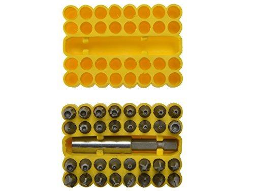 33 Piece Security Screwdriver Bit Set by Blue Spot Tools