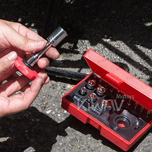 18 pcs quick finger ratchet tools kits for 14 drive
