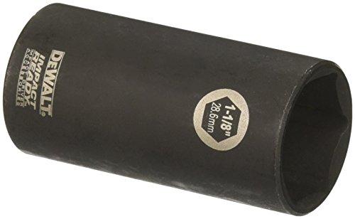 DEWALT DW22962 1-18-Inch IMPACT READY Deep Socket for 12-Inch Drive
