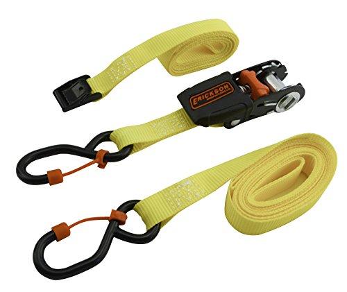 Erickson 31404 Soft Grip Mini Ratchet and Lash Strap 2pk 2 Pack