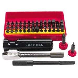 Wadsworth Ratchet Set Mini Super Deluxe 52 pc w4 Tools