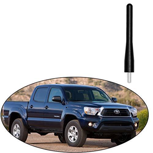 Black 36 Aluminum Short Direct Replacement Screw Thread Performance Antenna Mast Whip fits Toyota 2002-2015 Toyota 4Runner 2003-2014 Toyota Sienna 1996-2016 Toyota Tacoma