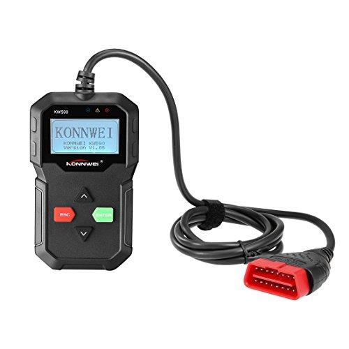 KONNWEI Authorized KW590 OBD2 Car Code Reader Automotive Scanner Multi-language Full OBDII Function Auto Diagnostic Tool