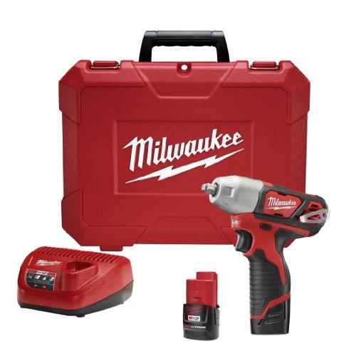 Milwaukee 2463-22 M12 38 Impact Wrench - Kit