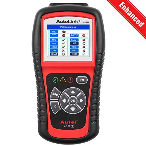 Autel AutoLink AL519 OBD2 Scanner Enhanced Mode 6 Car Diagnostic Tool Check Engine Code Reader CAN Scan Tool Advanced Ver of AL319