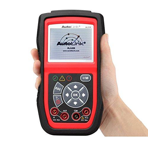 Autel AutoLink AL539B Code Reader Battery Test and OBD2 Auto Diagnostic Scanner