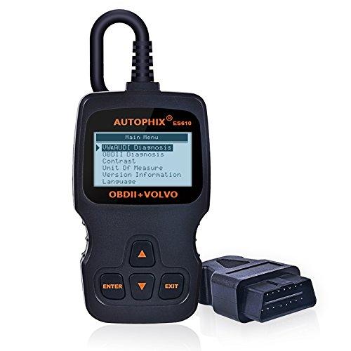 Code Reader Autophix ES610 for Volvo Engine ABS SRS Airbag Transmission Auto Diagnostic Scan Tool OBD2 Scanner and EOBD OBD2 ECU Code Reader for other vehicles