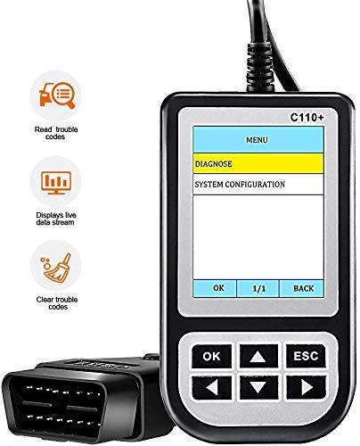 Creator Code Reader Car Diagnostic Tool C110 V60 Multi Tool SRS Airbag ABS OBD OBD2 Automotive Scanner Scan Tools Obdii Reader for BMW