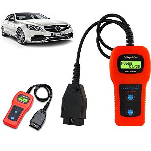 CBK U480 CAN OBDII OBD2 Car Diagnostic Scanner Tool Memoscanner Engine Fault Code Reader
