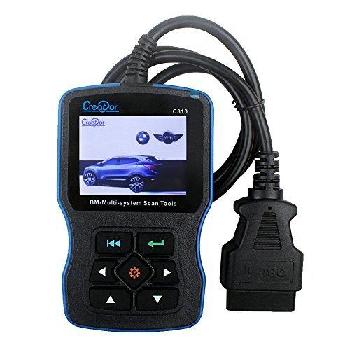 Creator C310 V61 BMW OBDII Diagnostic Scan Tool OBD2 Engine Fault Code ReaderLatest Version