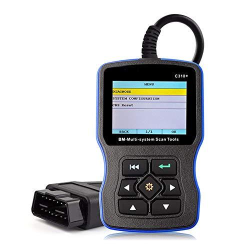 Shentesel Creator C310 Airbag Diagnostic for BMW Code Reader Engine Scanner Oil Reset