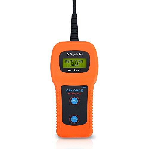 U480 OBD2 CAN BUS Engine Code Reader OBD2 OBDII Car or Truck AUTO Diagnostic Engine Scanner