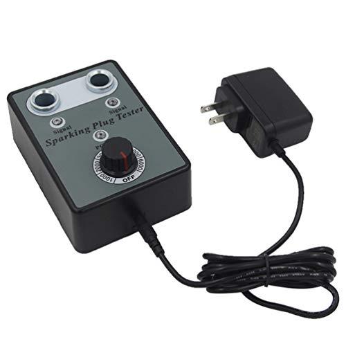 Yourshops OBD2 Scanner Automotive Engine Fault Code Reader Dual Hole Car Spark Plug Tester Detector Auto Sparking Plug Tester OBDII Scan Tool Auto Engine Scanner 1Set