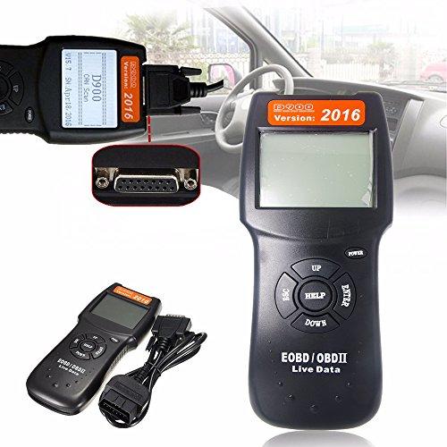 Bestcompu 2016 D900 OBDII OBD2 CAN Auto Fault Code Reader Engine Diagnostic Scanner Tester