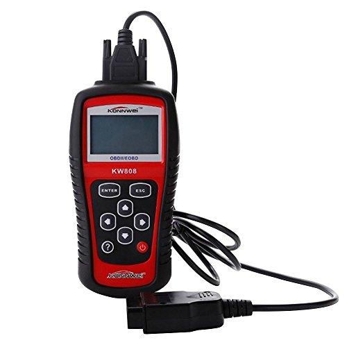 KONNWEI KW808 MS509 Auto EOBD OBDII Data Code Reader Car Engine Diagnostic Scanner Tool Kit